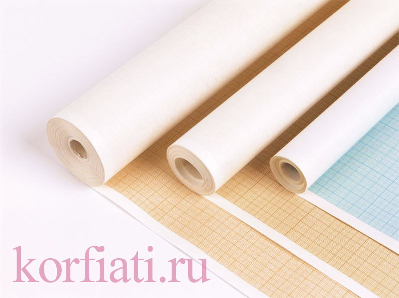 Миллиметровая бумага для выкроек в рулонах
