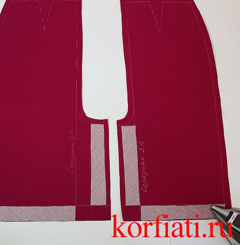 Мастер-класс по пошиву юбки карандаш