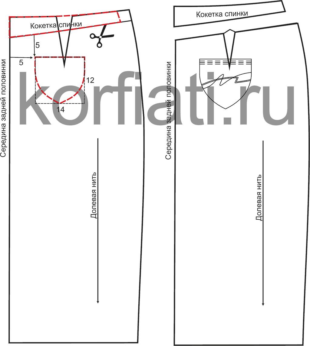 Пошаговая инструкция выкройки джинсов фото 502