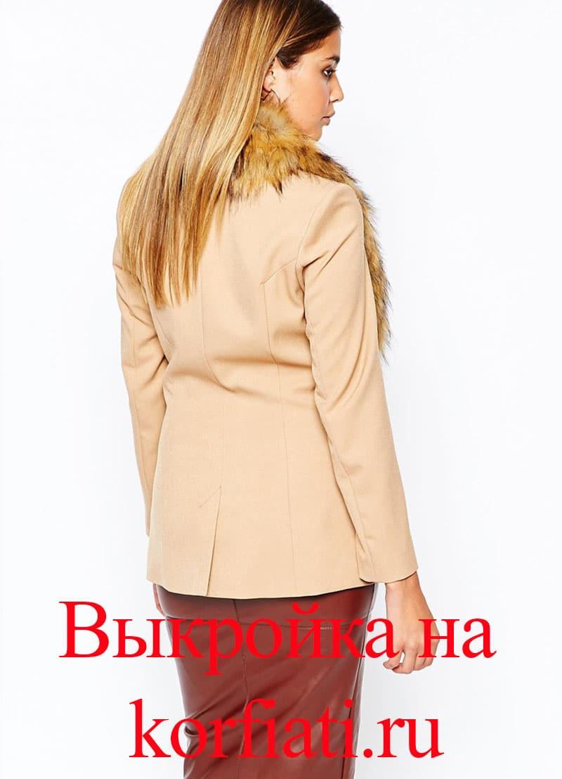 Обработка пиджачного воротника - МК от А. Корфиати 77