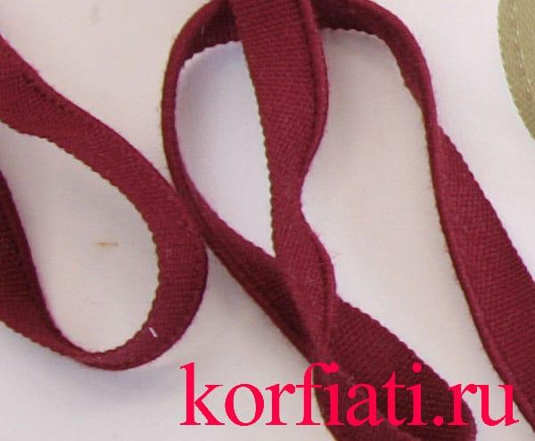 Швейная фурнитура - отделочный кант
