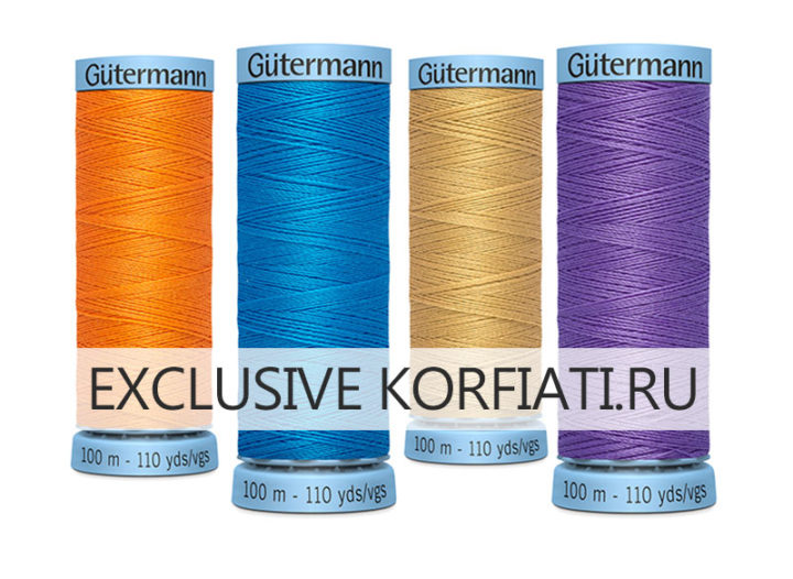 Как правильно выбрать шелковые швейные нитки
