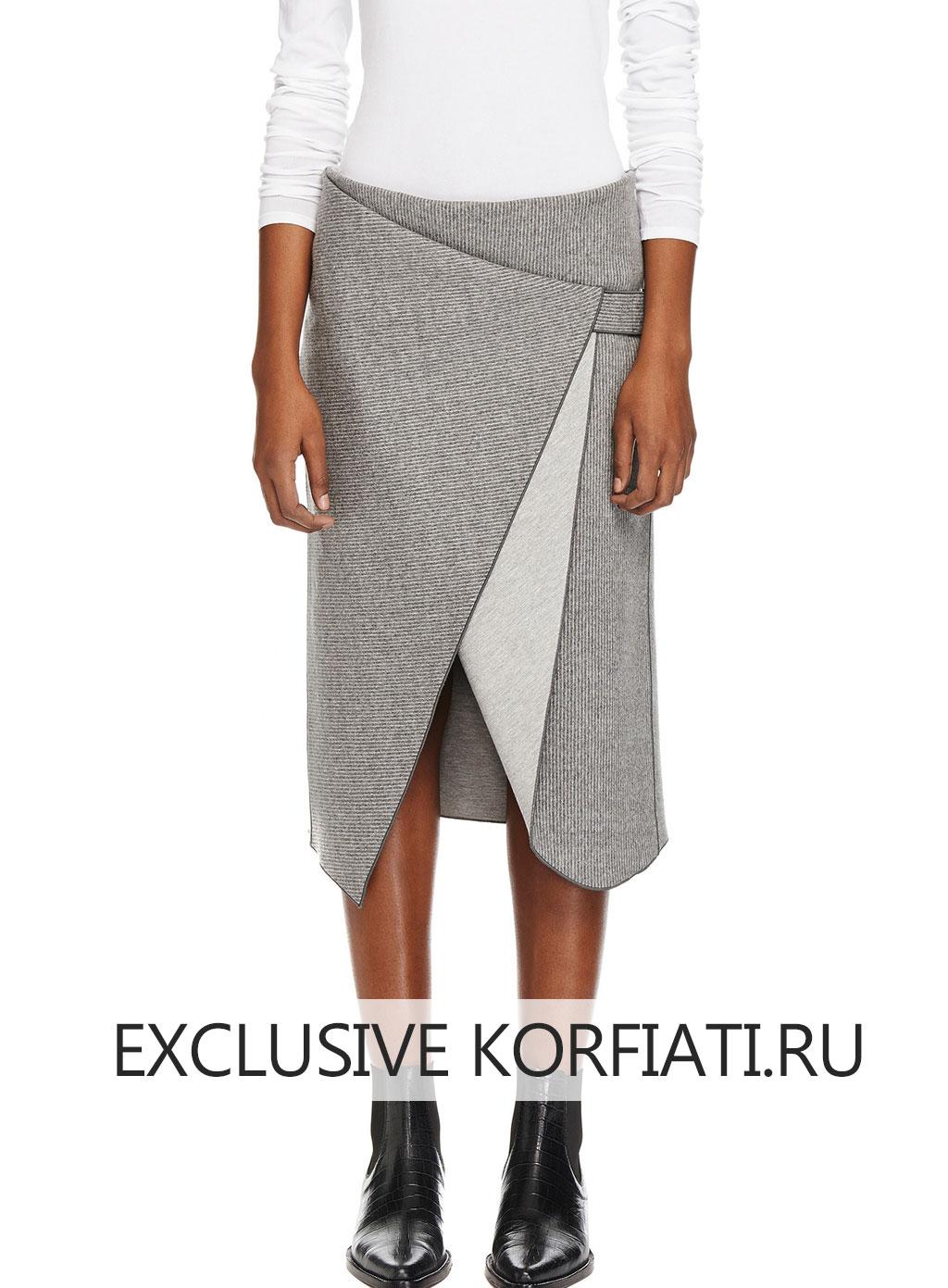 Выкройки стильные юбки