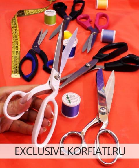 Как выбрать ножницы для раскроя ткани