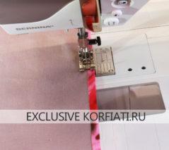 Обработка юбки подкладкой