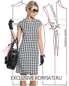 dress-black-white-pattern