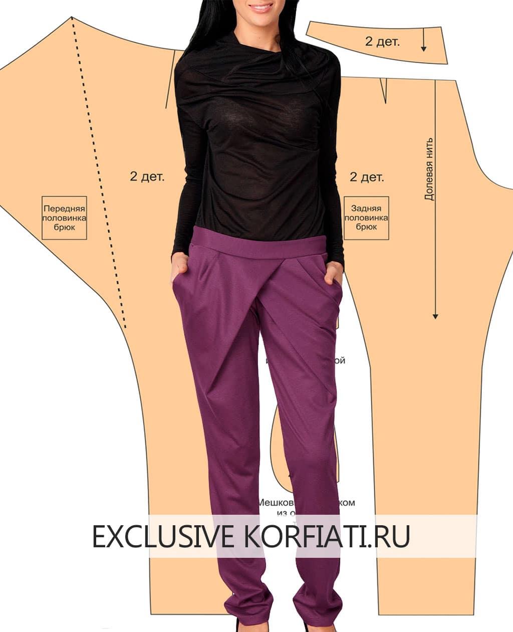 Классические брюки своими руками