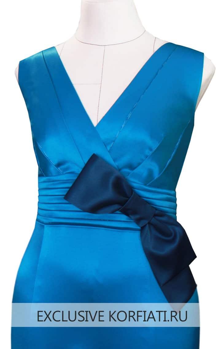Мастер-класс по пошиву праздничного платья