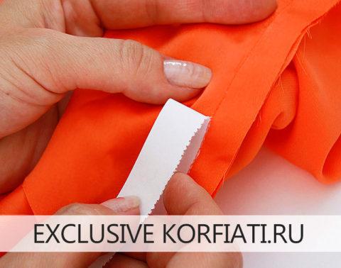 Как шить шелковые ткани