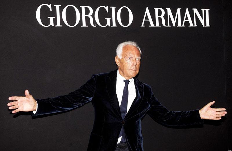 Джорджо Армани - итальянец в Париже