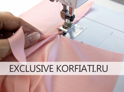 Выкройка приталенной блузки с вытачками - мастер-класс по обработке разреза