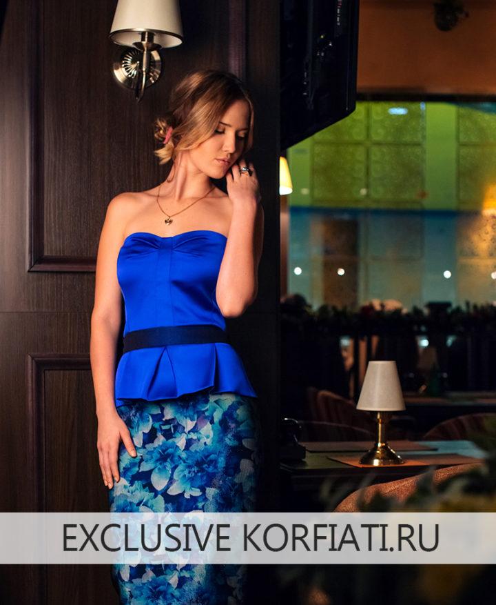 Моделирование выкройки облегающего платья
