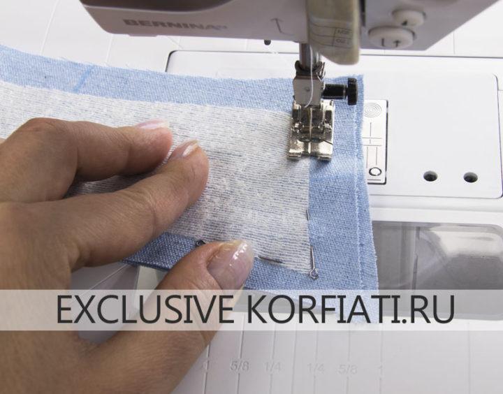 Обработка отлетного воротника рубашки - как сшить женскую рубашку