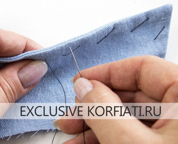Мастер-класс по пошиву женской рубашки - как выметать воротник