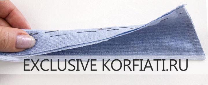 Подготовка отлетного воротника рубашки - мастер-класс по пошиву женской рубашки
