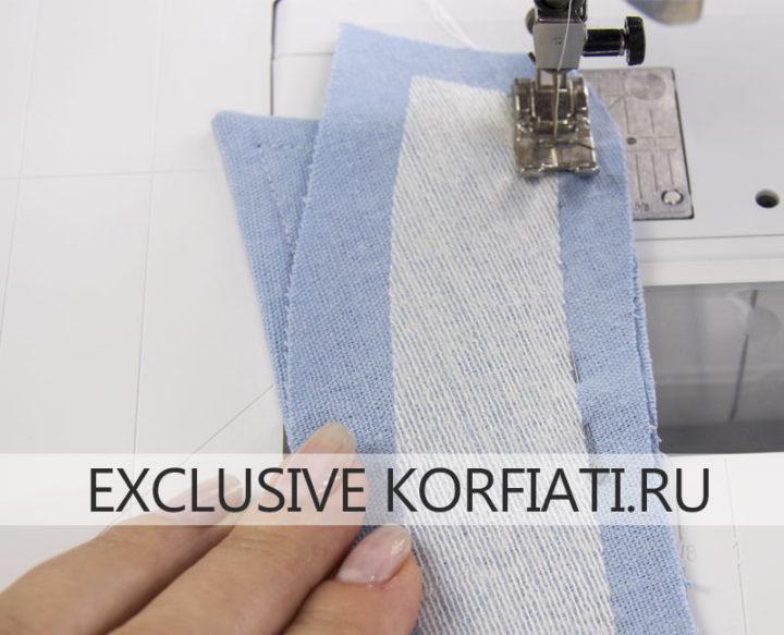 Советы по пошиву женской рубашки - обработка воротника