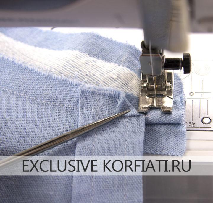 Мастер-класс по пошиву женской рубашки - обработка воротника