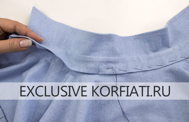 Мастер-класс по пошиву женской рубашки