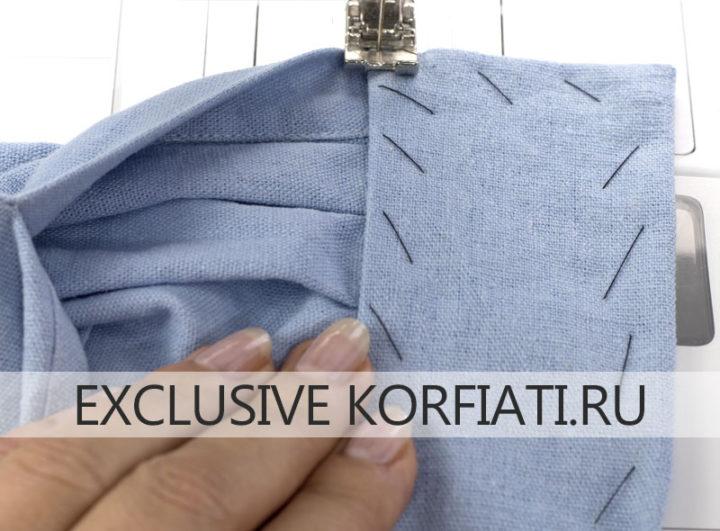 Мастер-класс по обработке манжеты рукава рубашки
