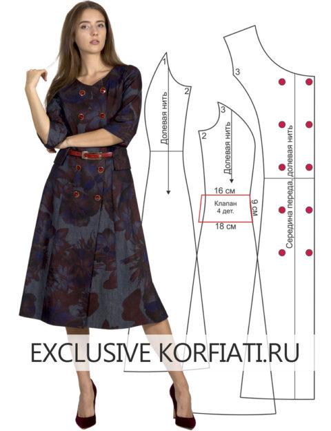 a71dd2243331a2f Выкройки платьев от Школы Шитья Анастасии Корфиати