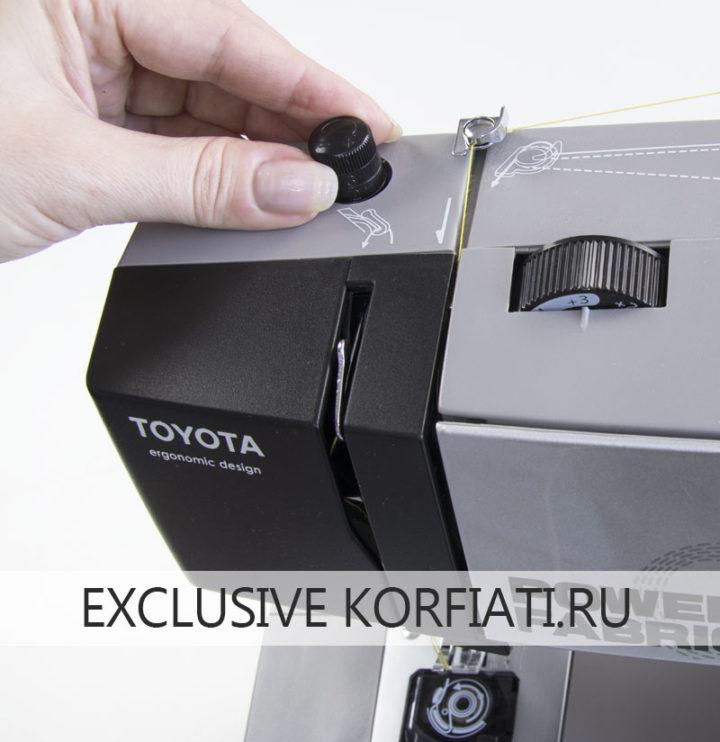 Тестируем швейную машину Toyota Power Fabriq 17