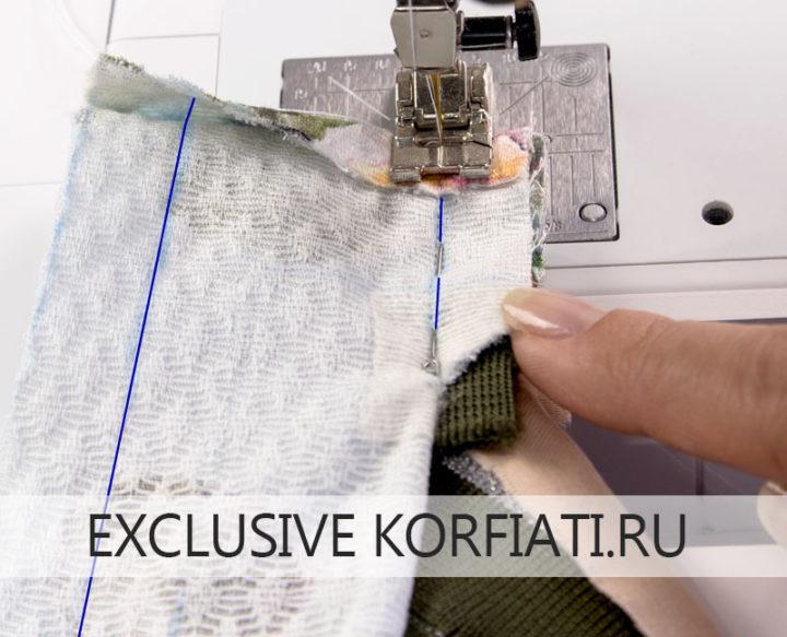 Как сшить бомбер - обработка подкладки