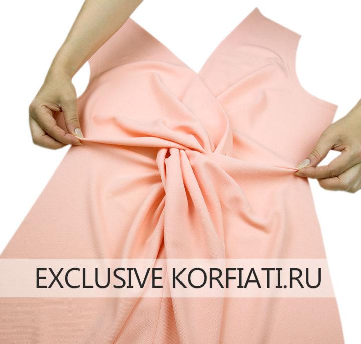 Как сшить платье с драпировкой по талии