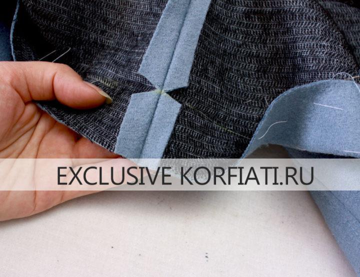 Мастер класс по пошиву пальто - припуски по низу