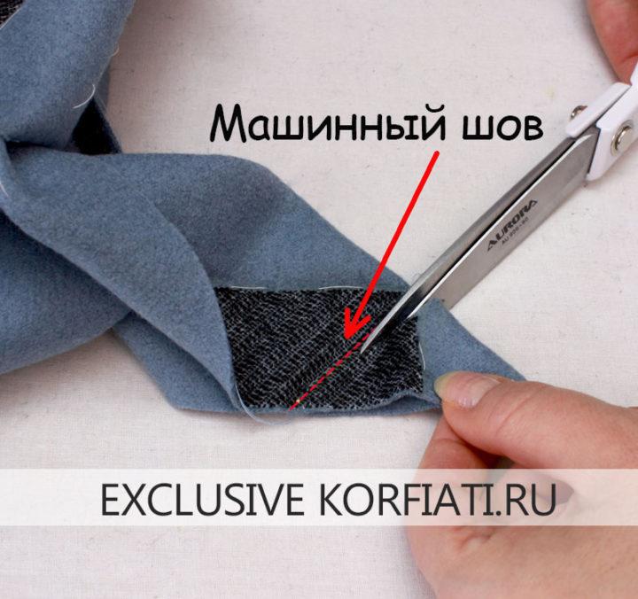 Мастер класс по пошиву пальто - шлица рукава