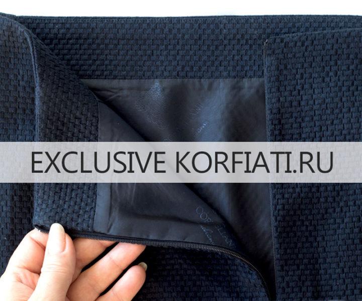 Как сшить юбку без пояса А-силуэта