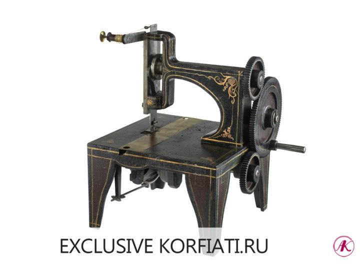 Первая модель швейной машины Зингер - фото
