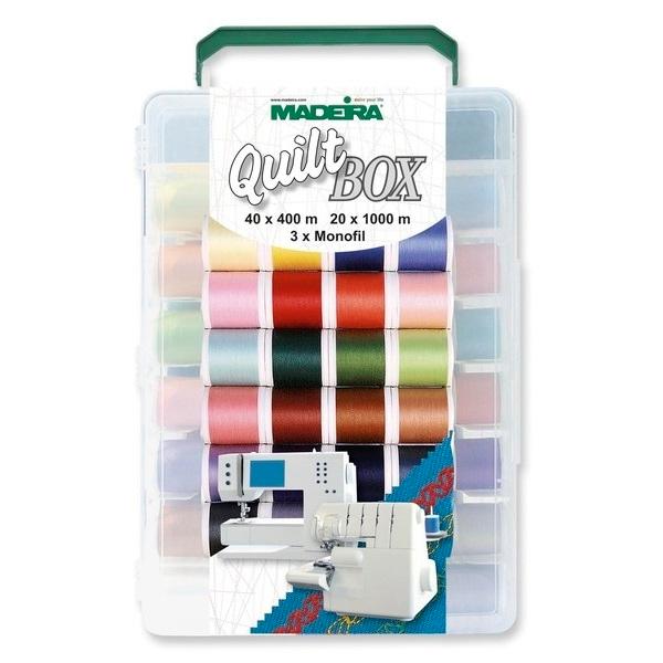 набор ниток MADEIRA Quilt box
