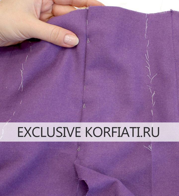 Как сшить брюки с гульфиком