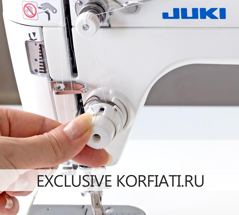 Регулировка натяжения верхней нити JUKI TL-2010Q
