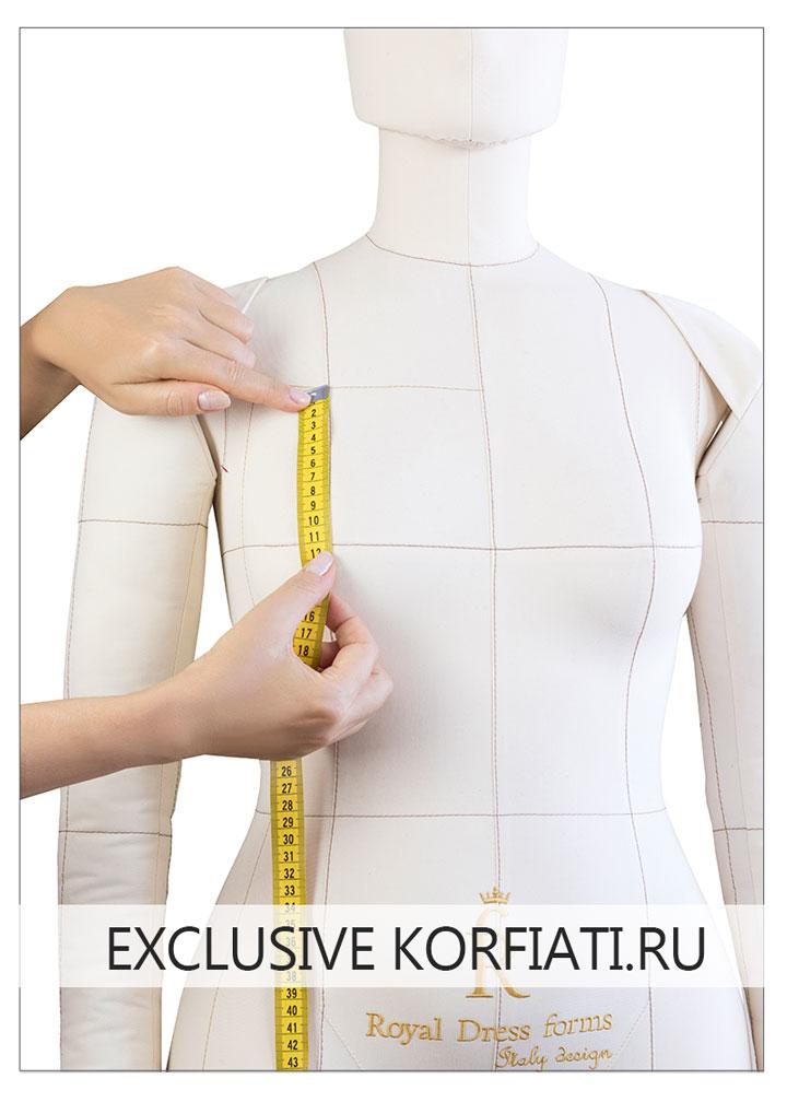 Мерки для расчета грудины нагрудной втачки