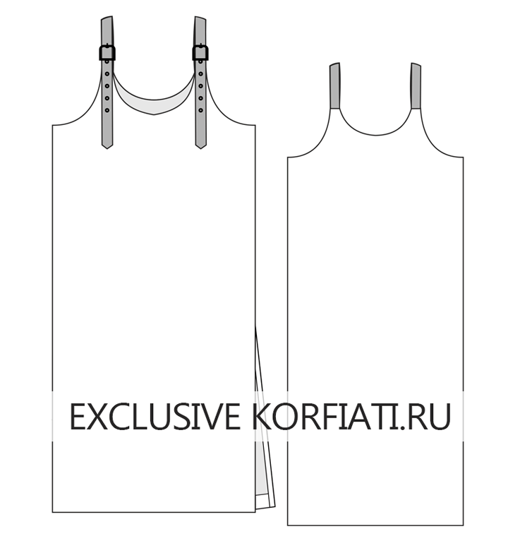Эскиз сарафана