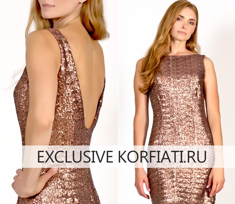 Готовое платье без рукавов - вид сзади и спереди фото
