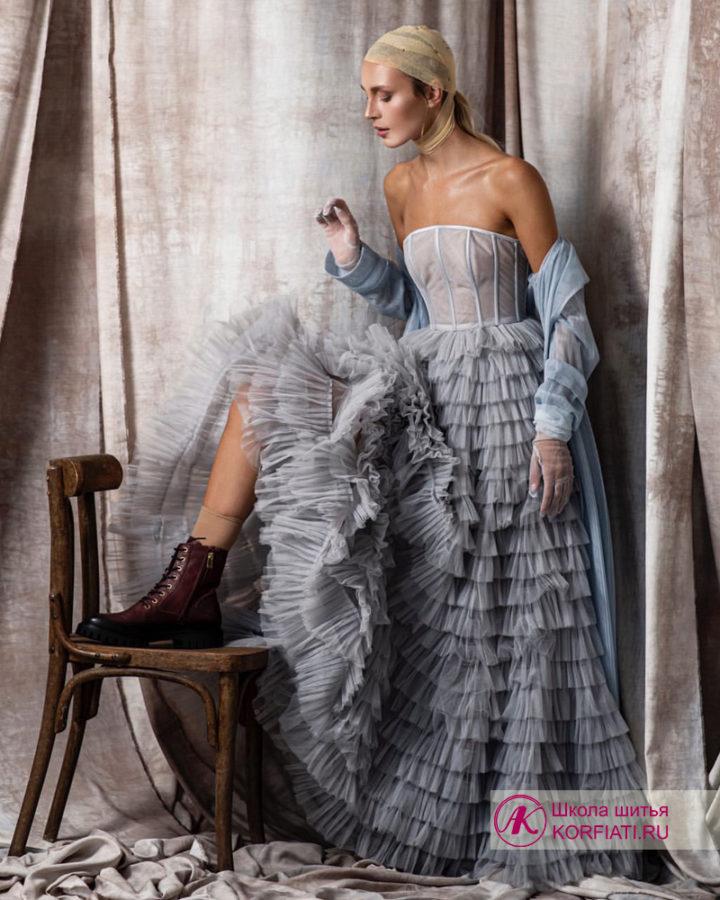 """Конкурсная работа Виталия Табакова - 2 место Конкурса швейного мастерства """"Весеннее обновление 2021"""""""
